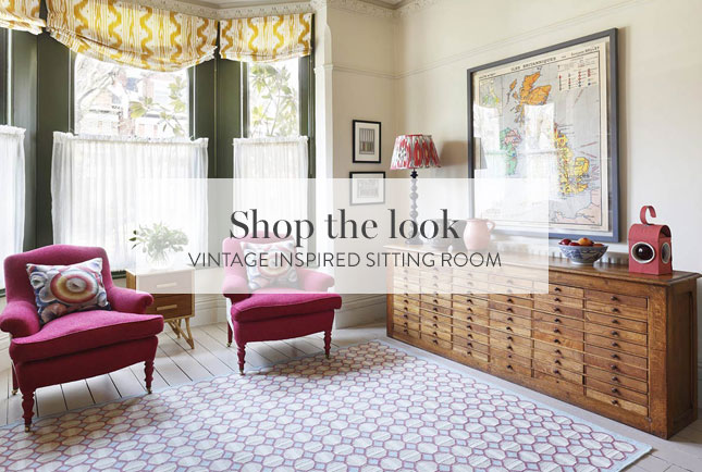 Vintage Inspired Sitting Room