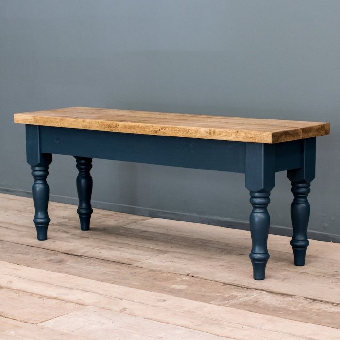Victorian Style Farmhouse Bench Vintage Dining Seating
