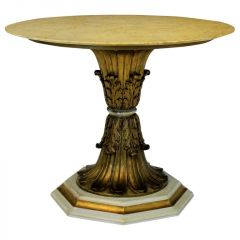 Finely Carved Italian Gilt Wood Centre Table