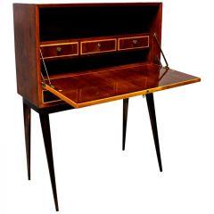 Rare 1950s Italian Mid-Century Bar Cabinet