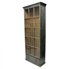 Large French Painted and Glazed Cabinet