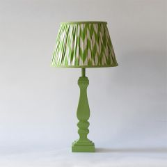 Green Chevron Lampshde