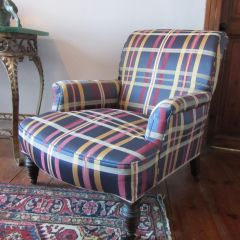 1890s Victorian Library Armchair