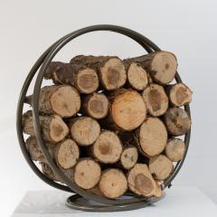 'The Ashford' Log Holder, Fireside, Accessories, Steel Frame