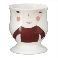 Ceramic Bone China Hand Painted Baby Face Egg Cup