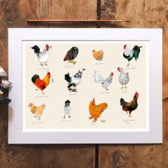 'Chicken Life' Signed Print