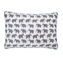 Handmade Rectangular Circus Elephant Cushion