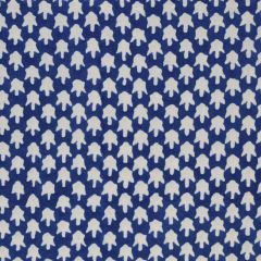 Chicken Feet Fabric in Navy Blue