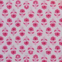 Flower Buta Fabric in Pink