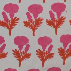 Marigold Fabric in Pink & Orange
