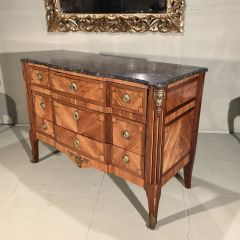 Early 19th Century Louis XVI Commode in Pale Rosewood