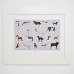 'Dog Life' Signed Print