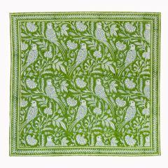 Parrot Napkins in Green