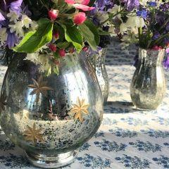 Glass Votive Candle Holder Vase
