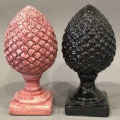 Handmade Ceramic Villa Pinecone Ornament Decoration