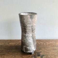 Handmade Raku Unique Ceramic Vase