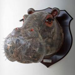 Decorative Hippo Head