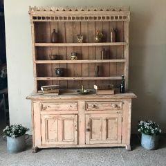Irish Pine Dresser