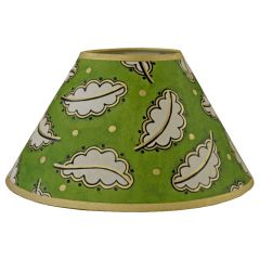 """Green Oak Leaf 10"""" Lampshade"""