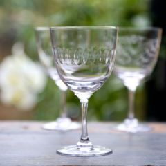 Set of 6 'Lens' Wine Glasses
