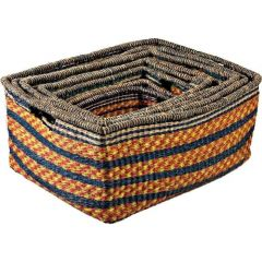 Set of 6 Zulu High Storage Baskets (Default)