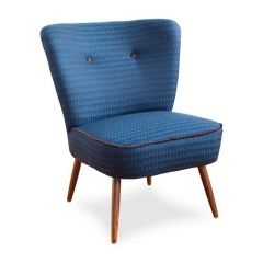 1950s Blue Cocktail Chair