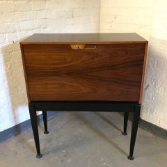 Mid-Century Walnut Secretary Desk