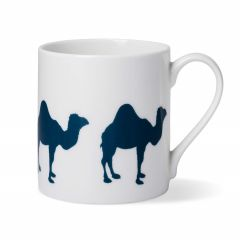 Blue Camel Coffee China Mug