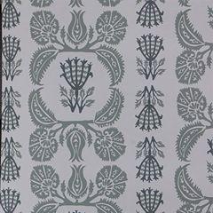 Ottoman sentiment grey wallpaper