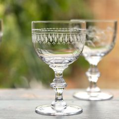 Set of 6 'Ovals' Wine Goblets