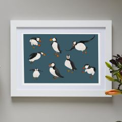 'Puffins' Signed Print