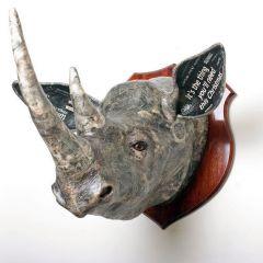 Decorative Rhino Head