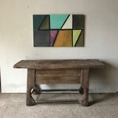 Rustic Slab Table