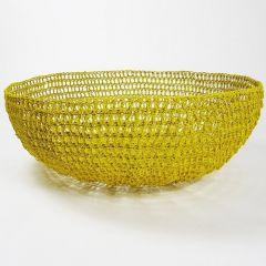 Saffron Crochet Basket