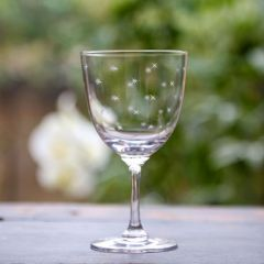 Set of 6 'Stars' Wine Glasses