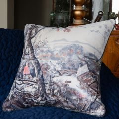 Luxury Silk Pietro Annigoni Cushion