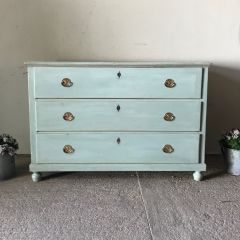 Swedish Blue Commode
