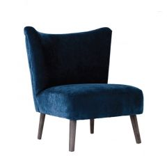 Upholstered Velvet Chair