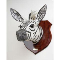Decorative Zebra Head