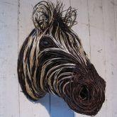 Will Zebra Sculpture