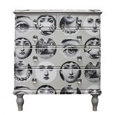 Antique Victorian Upcycled Faces Chest of Drawers