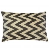 Ava Silk Ikat Cushion