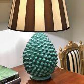Handmade Ceramic Pietro Pinecone Lamp Base