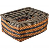 Set of 6 Zulu High Storage Baskets (Default)