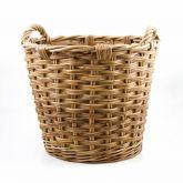 Rattan Log Basket, Fireside, Accessories