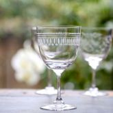 Set of 6 'Ovals' Wine Glasses