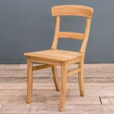 Solid Beech Upholstered Parlour Dining Chair