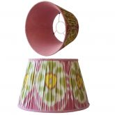 Melodi Horne Pink & Yellow Flower Lampshade