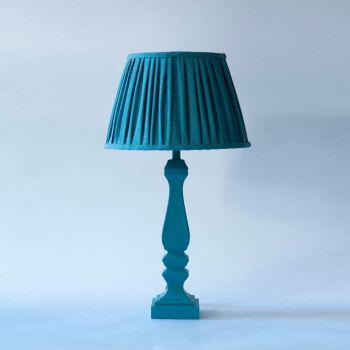 Melodi Horne Monochrome Aqua Blue Lampshade