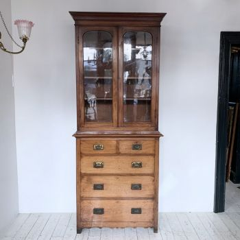 19th Century Mahogany Campaign Dresser